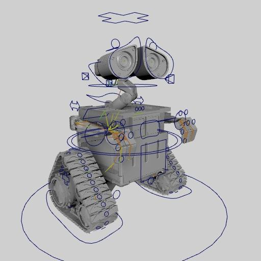 Walle Rig Characters Stockcg Com